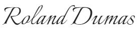 signature roland dumas